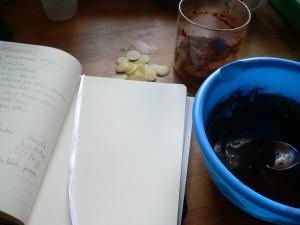 Schokolade Vorbereitung